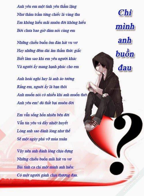 Tổng hợp tất cả bài thơ tình lãng mạng lắng đọng lòng người