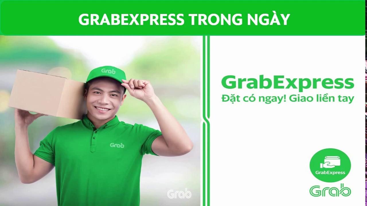 Grab] GrabExpress - dich vụ giao hàng trong ngày - YouTube