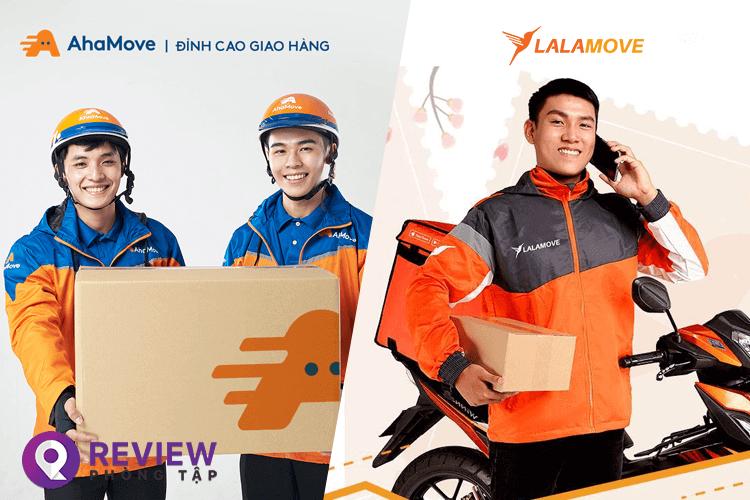 Review nên chạy Ahamove hay Lalamove thì tốt và có lợi cho tài xế hơn?