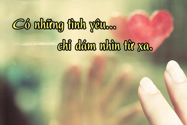 Cap hay về tình yêu đơn phương: mỗi câu nói là một nỗi buồn!