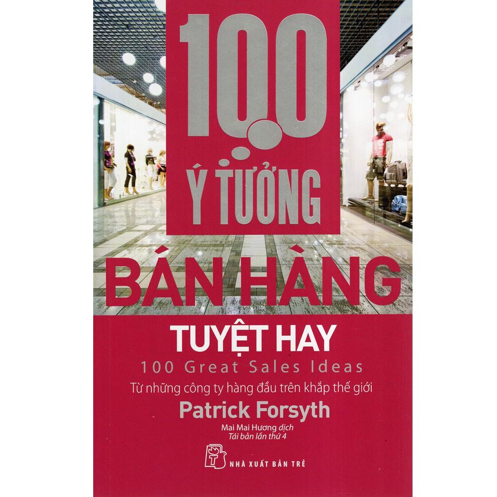 Sách: 100 ý tưởng bán hàng tuyệt hay | Shopee Việt Nam