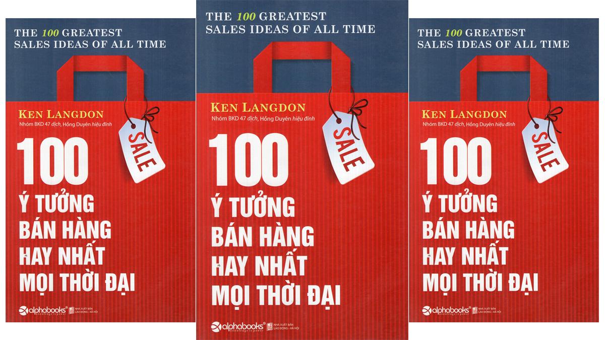 Review sách 100 ý tưởng bán hàng tốt nhất
