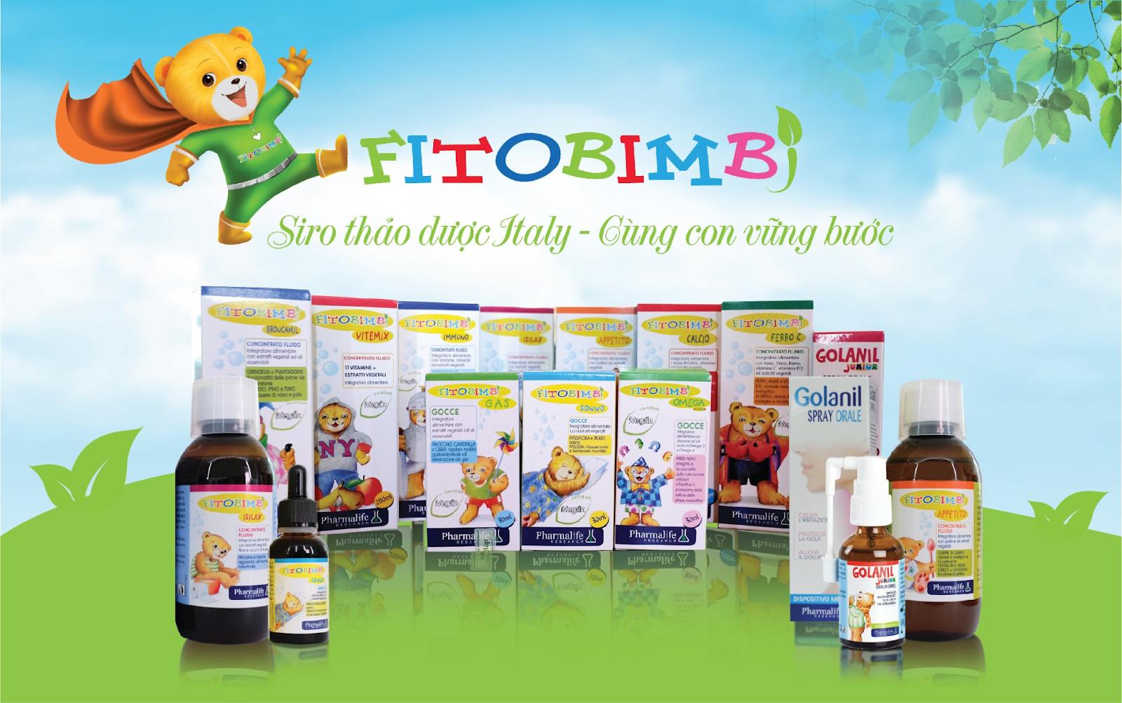 Siro ho Fitobimbi Propoli lựa chọn thông minh