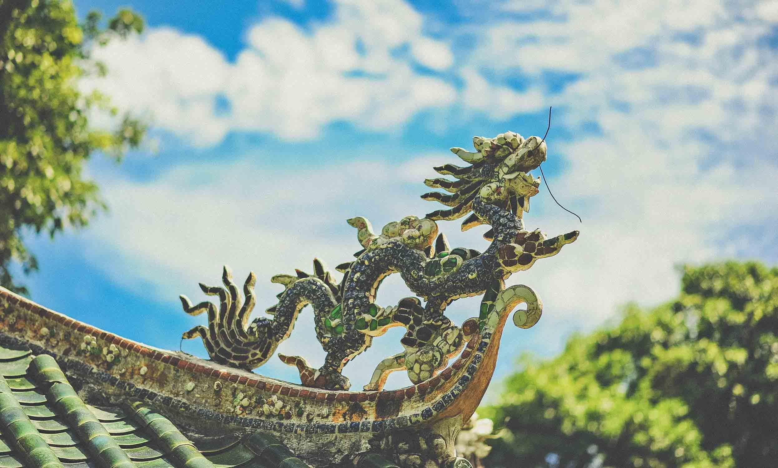 biểu tượng rồng may mắn