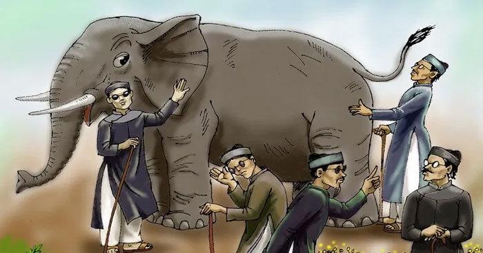 Soạn bài Thầy bói xem voi (ngắn gọn, đầy đủ) - Soạn văn 6