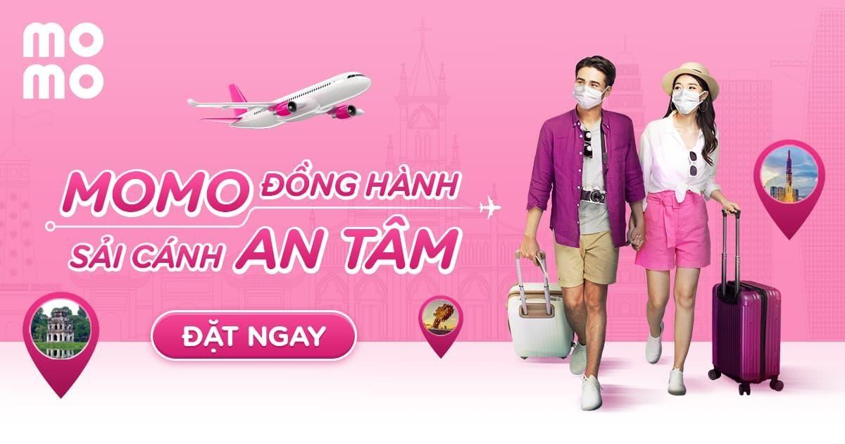 Đặt mua vé máy bay online trên Ví MoMo - Giá rẻ - Siêu ưu đãi