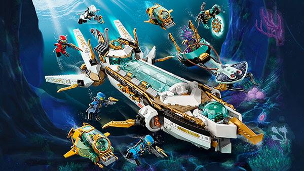 Ninjago - Thủy Chiến Đáy Đại Dương