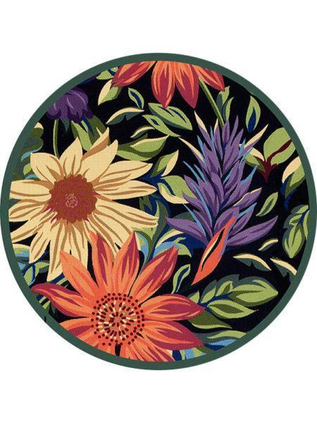 A bowl of colorful flowers  Description automatically generated with medium confidence